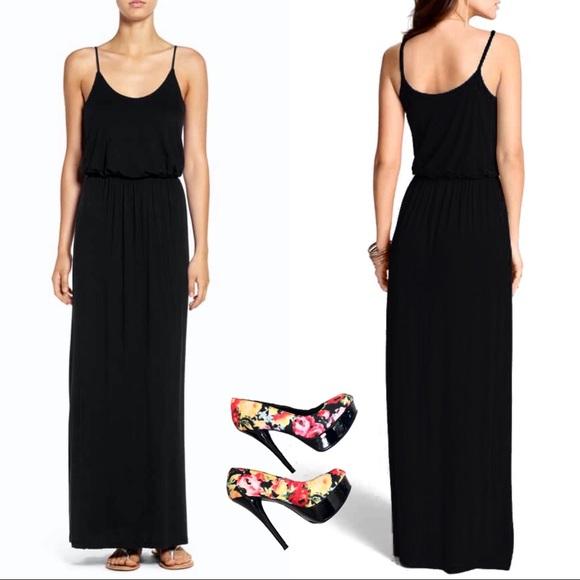 3de4fcfccd Nordstrom Dresses   New Lush Black Maxi Dress   Poshmark
